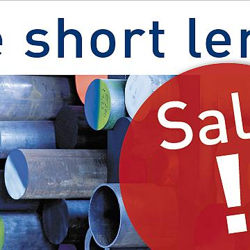 Special Prices: Sale of short lengths items