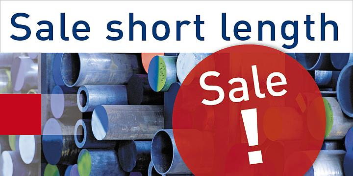 Sale of short length items